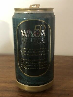 Collectable Swan Brewery 1857 Bitter 59 Years Sheffield Shield BEER CAN 375ml