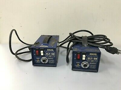 Lot of 2 HIOS CLT-50 Power Supply Control Units