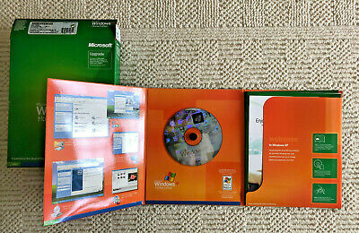 Microsoft Windows XP Home Edition 2002 Disc + Product Key Upgrade