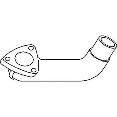 72091261 Exhaust Elbow Made To Fit Allis Chalmers 5040 5045 5050
