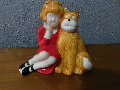 Neat Vintage Little Orphan Annie Ceramic Bank by APPLAUSE 1982