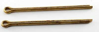 50 PIECES   3//64 X 3//8  COTTER PINS BRASS  MS-24665-101   INCORRECT PICTURE