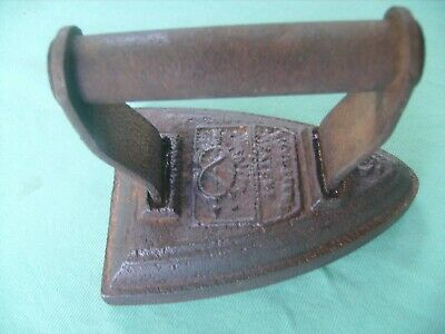 VICTORIAN SALTER SILVESTERS PATENT no 6 ANTIQUE CAST/IRON,FLAT IRON 1900