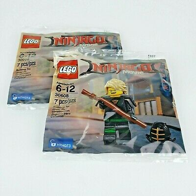 NEW IN SEALED POLY BAG LEGO THE NINJAGO MOVIE 30608 LLOYD MINIFIGURE