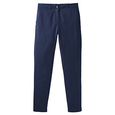 Joules Hesford Womens Pants Chino - French Navy All Sizes