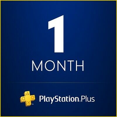 1 Month PlayStation Plus PS4 - PS3 - Vita - (No Code) FAST DELIVERY!!!