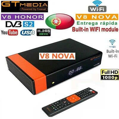 GTMedia V8 Nova Satellite TV Receiver DVB-S2 H.265 Built-in Wifi 1080P