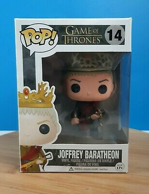 Funko Pop! Joffrey Baratheon #14 Game of Thrones Retired Vaulted 3rd Edition