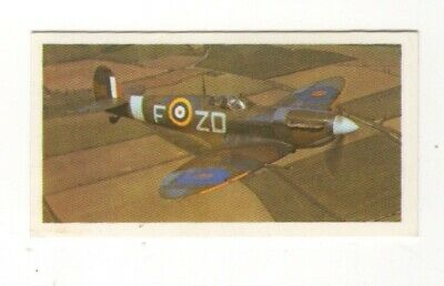 Brooke Bond History Tea Card 1982.  Aviation. The Spitfire