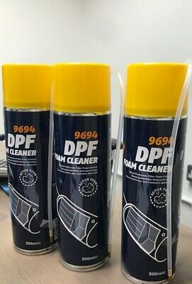 Mannol DPF Foam Cleaner X 3 PCS Regenrate your DPF