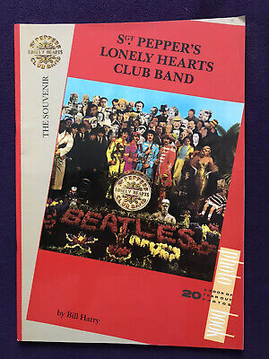 1987 Poster Book - SGT. PEPPER'S LONELY HEARTS CLUB BAND The Beatles Bill Harry