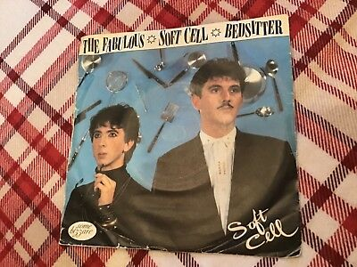 """Soft Cell - Bedsitter     used  7"""" vinyl record"""