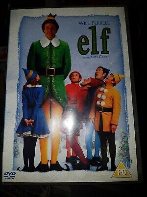 ELF   2 DISC DVD Elf (DVD, 2005)  FREEPOST