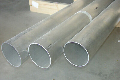 "Lot of 4pcs ALUMINIUM RECT TUBING 1/"" x 2/"" x .120 x 60/"" 6063-T5"