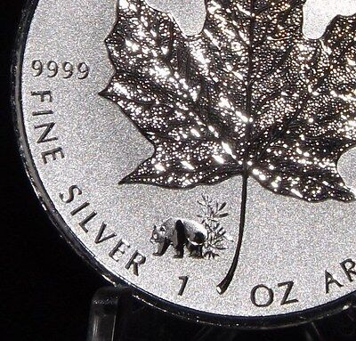 2017 PANDA  Privy Silver Maple Leaf Canada  1 oz 9999 pure