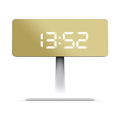 Space Hotel London ® The Cinemascape LED Alarm Clock Rectangular Mirror LED Dial