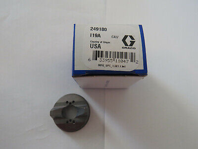 Graco Paint Sprayer Supply Parts 249180 Nozzle Air Cap For G15/G40 Flat Face Gun