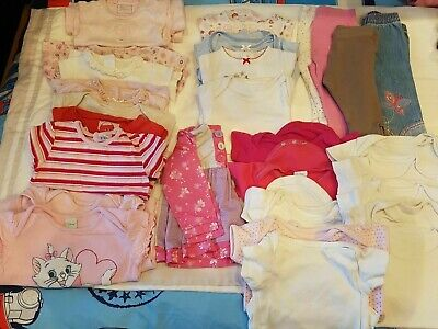 3-6 months Girls Clothes Bundle (29 Items) - NEXT,asda, F&F Combined P&P Offered