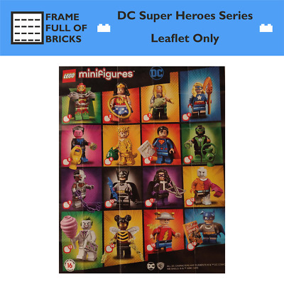 LEGO 71026 Minifigures DC Super Heroes Series - Leaflet Only