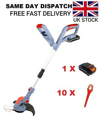 20V Electric Cordless Garden Strimmer Grass Trimmer Same Day Dispatch Ba5
