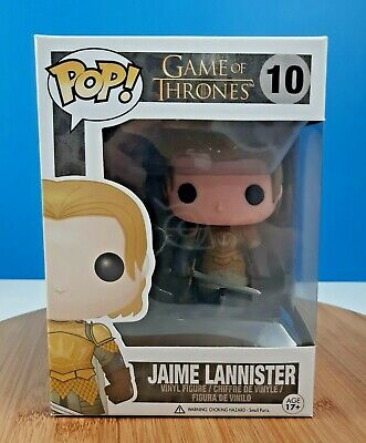 Funko Pop! Game of Thrones Jaime Lannister #10 Gold Armor Vaulted Retired 2nd Ed