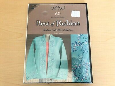OESD Embroidery Designs - Best of Fashion - Multi-Format USB