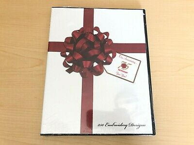 Bernina 75th Anniversary 250 Embroidery Designs - Multi-Format CD