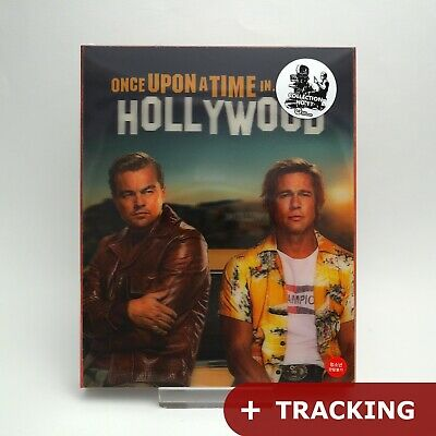 Once Upon A Time In Hollywood 4K UHD + Blu-ray Steelbook Lenticular Edition