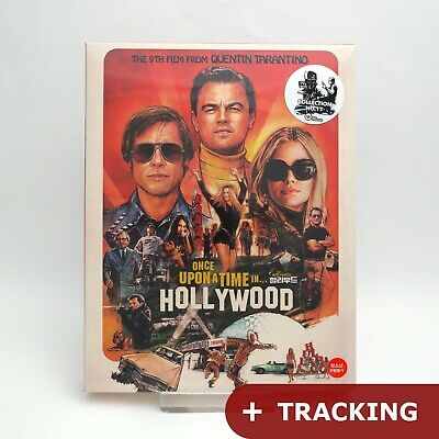 Once Upon A Time In Hollywood 4K UHD + Blu-ray Steelbook Full Slip Ed.