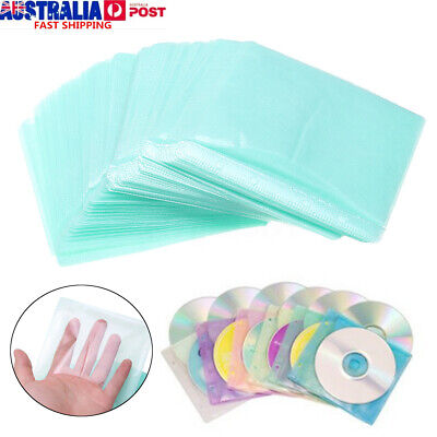 100-1000X CD DVD Double Sided Storage Pack Case PP Bag Sleeve Envelope