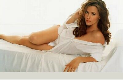 Jennifer Garner - Lying On Her Side In Bed With White Panties On !!
