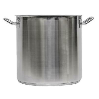 Vollrath - 3509 - Optio™ 38 Qt Stainless Steel Stock Pot With Cover