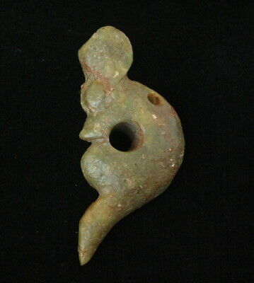 Old Chinese Hongshan Culture Jade Hand Carved Dragon Figurine amulet Pendant