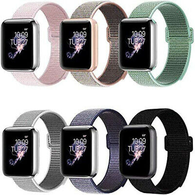 For Apple Watch 5 4 3 2 1 Sport Loop Strap iWatch 38/42/40/44mm Band Wristband