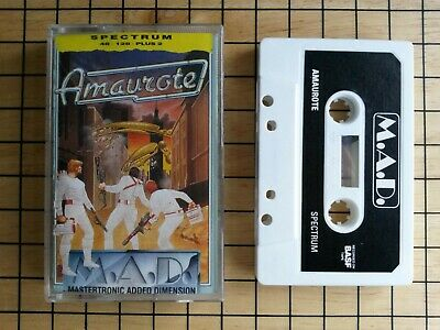 Amaurote by Mastertronic Added Dimension for the ZX Spectrum tested & working