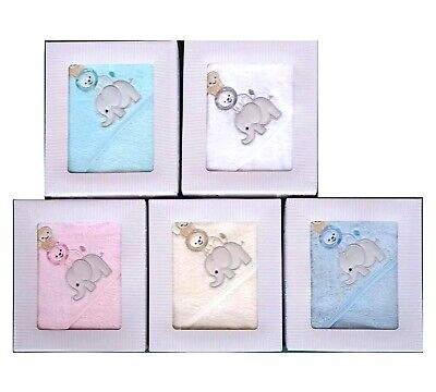 [50%OFF!]  Baby 100% Cotton Towel Hooded Three Animals
