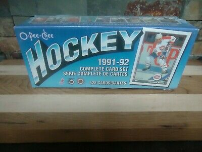 1991-92 Opc O-Pee-Chee Hockey Card Set Nhl Factory-Sealed Set