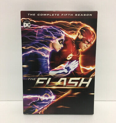 The Flash: The Complete Fifth Season 5 (DVD, 2019, 5-Disc set) FAST SHIPPING!