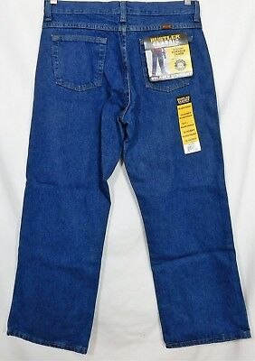 NWT Boys Rustler Classic jeans 14 Husky relaxed straight by Wrangler Cotton