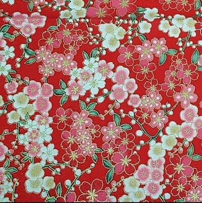 Lazy Day by Riley Blake Cotton Fabric Quilting Dressmaking FQ 1//2m Cherries
