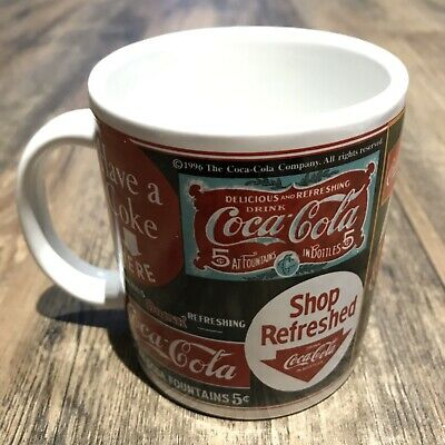 Vintage Coca Cola Signs Graphic Coffee Mug 2003