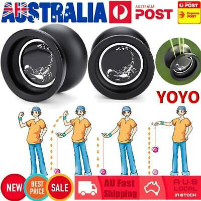 Magic YOYO Metal Professional Yo-yos Toy Yo Yo Ball with 1 Gloves And 3 Strings