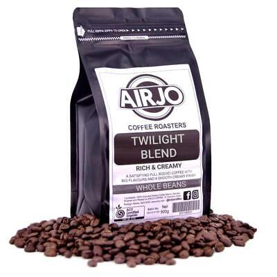 AIRJO Coffee Roasters - Twilight Blend - RICH & CREAMY - Whole Beans 250g