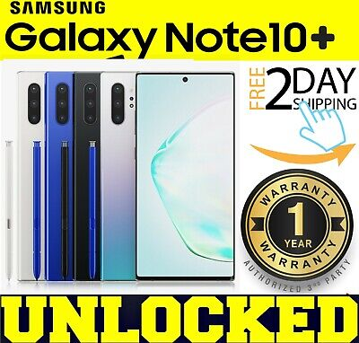Samsung Galaxy NOTE 10 PLUS N975U1 256GB (FACTORY UNLOCKED) ALL COLORS *OTHER*