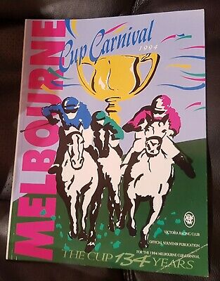 1994 Melbourne Cup Carnival VRC Official Souvenir Booklet. In as New Condition.