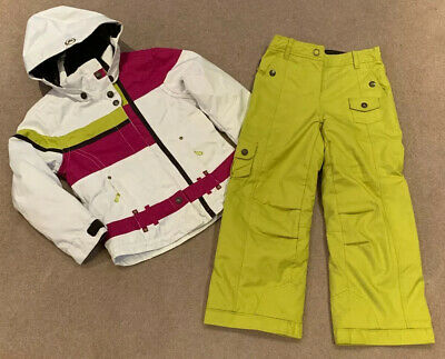 Age 10 Jnrs Obermeyer Ski Jacket + Salopettes  Immaculate Condition Girls Snow