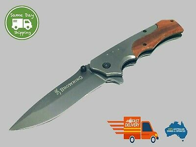 EDC Folding Knife Rainbow Steel Camping,Hunting,Outdoor,Survival Tool Flip Fish