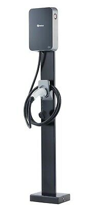 EV Charge point 7kw / 32amp, Type 1 Tethered fast wall charger + Ground Mount