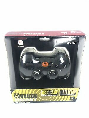 Logitech RUMBLE PAD 2 Wireless Cordless PC Controller  NEW  Old Stock  Rare