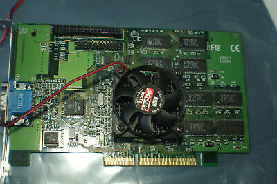 3DFX Voodoo Banshee 16Mb AGP video Card VGA graphics  ✔️TESTED